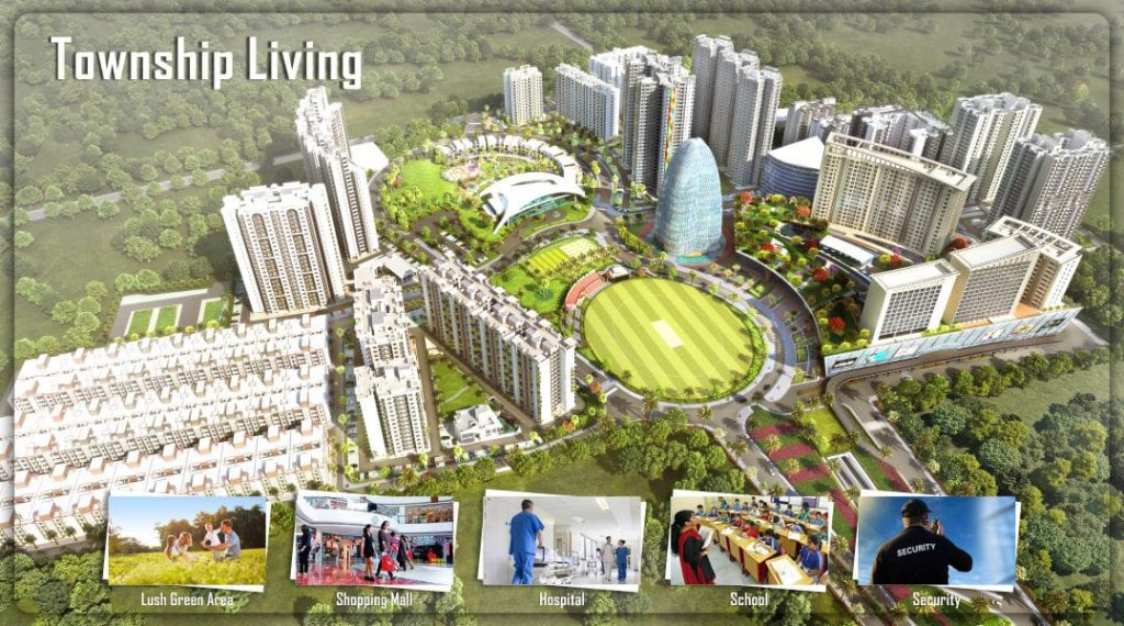Township in lucknow,Resedential township in kanpur road