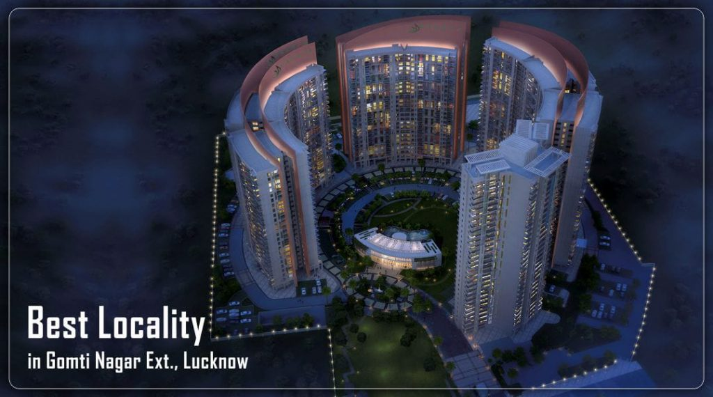 property in gomti nagar extension lucknow, flats in gomti nagar extension lucknow