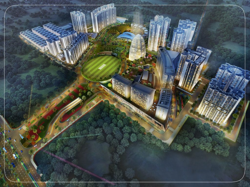 Paarth Republic - the only planned township on Kanpur road