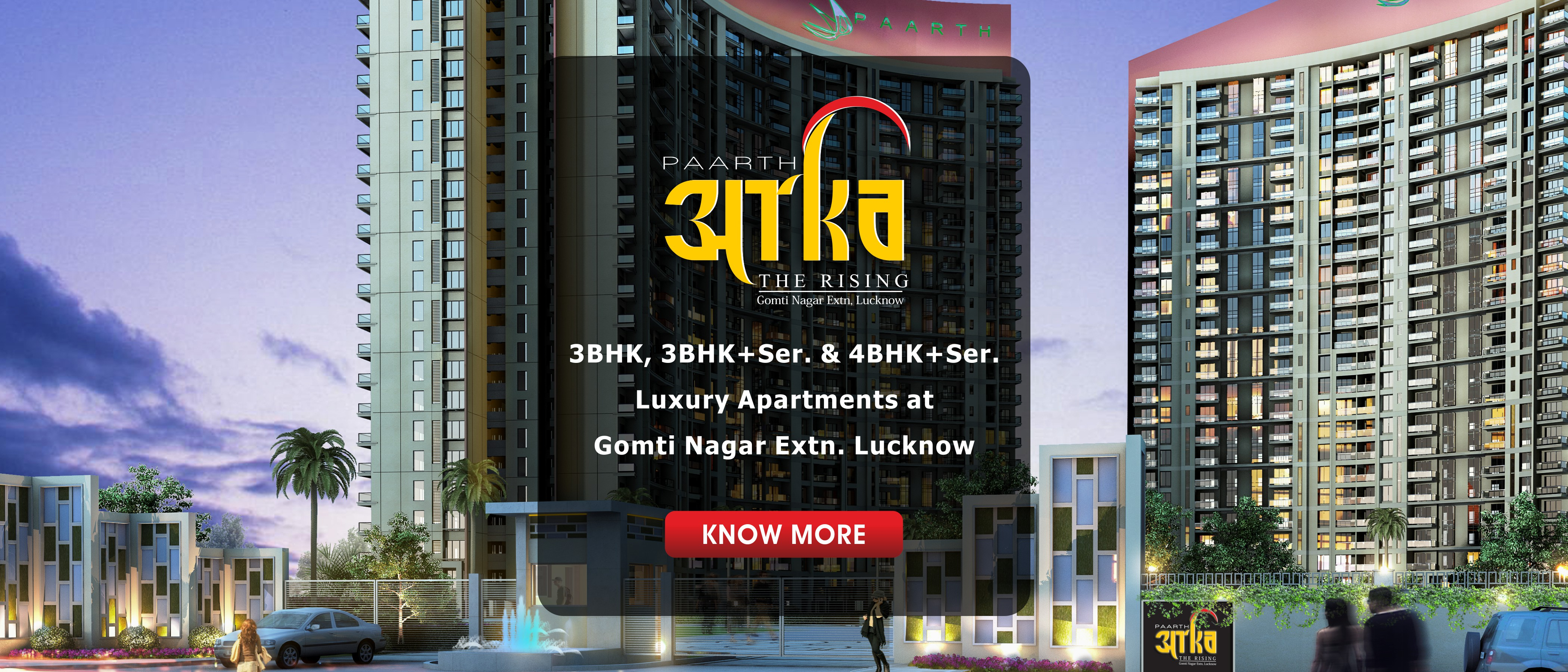 Best Real Estate company offering flats in Gomti Nagar and Kanpur road areas of Lucknow